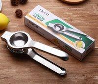Edelstahl-Zitronen-Squeezer-Werkzeuge Manuelles Juicer-robustes Kalk-Anti-ätzendes frisches Saft-Werkzeug mit Einzelhandelspaket