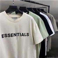 2021 Medo de deus manga curta camisetas 100% 11 nevoeiro essencial t-shirt kanye camisa ocidental jerry lorenzo solta ovesizado tee