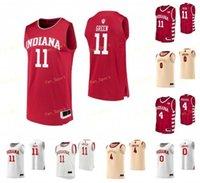 NCAA College Indiana Hoosiers Jersey de basketball 11 Isiah Thomas 13 Juwan Morgan 14 Nathan Childress 15 Adrian Chapman sur mesure sur mesure