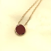 Fashion Jewelry Necklace Luxury Designer Women Pendant Necklaces With Flowers Pattern 3 Colors Optional With Box High Quality
