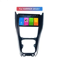 2 DIN 9 pouces Android 10 voiture DVD lecteur HD écran tactile pour Toyota Harrier Vue arrière Caméra Support