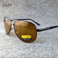 Womens Sunglasses Jaxinnight Óculos Polarizados Homens Projeto Da Marca De Design Mulheres Metal Moldura Condução de Viagem Night Vision Óculos UV40