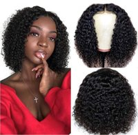 Lace Wigs 5*5 Thin Transparent HD Human Hair WigCurly Style Bob Cut Natural Color Pre-bleached Knots Pre-plucked Hairline Removable