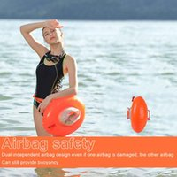 Summer Swimming Equipment Safety Buoy PVC Swim Double Airbags Clothing Drowning Prevention Water Sport Float Bag Pool & Accessories