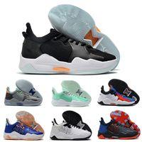 2021 Yüksek Kalite Paul George 5 5 S Basketbol Ayakkabı Siyah Beyaz Kırmızı PG5 PG Lüks Sneakers Spor Eğitmenleri Size40-46