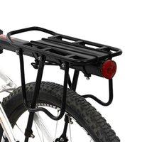 Bisiklet Bagaj Taşıyıcıları Kargo Koltuk Post Taşıyıcı Arka Raf Çamurluk Alüminyum Alaşım Çerçeve Taşıyıcı Tutucu Dağı Bisiklet Pannier Raf 1046 Z2