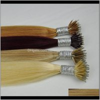 Feded FedEx Color 99J 18p60 613 12 Doppel DN Seide Gerade Brasilianische Nano Ring Haarverlängerungen 1g Strand 100g Lot Top Qualität Uobl Fjhqi