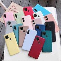 Candy Color силиконовый чехол для телефона для Xiaomi Redmi 9C NFC 9A 9AT матовый мягкий TPU задняя крышка XIOMI Redmi9c Redmi9a Fundas Coque