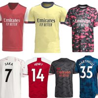 SAKA ODEGAARD CEBALLOS player version Soccer Jerseys 2021-22 TIERNEY MARTINELLI HENRY Black jersey Football shirt Soocer kit