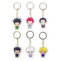 Anime Keychain Hunterhunter Acrylique Périphérique Périphérique Périphérique Périphérique Porte-clés Porte-clés personnalisés