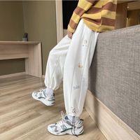 Mens Joggers Sport Pantaloni da corsa Fitness Fibbia piena Sportswear Tracksuit Sweatpants Pantaloni Pannelli Pista Pista Train Formazione Donne Capris