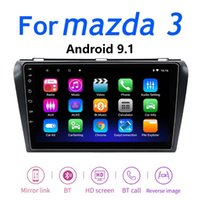 Giocatore per 3 2004-2012 Android 9.1 Auto DVD GPS Radio Stereo 2G 32G WiFi Mappa Auto Quad Core 9 pollici 2 DIN Multimedia Video Play