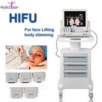 Gorący sprzedaż Przenośna maszyna HIFU Hi-Fu Odchudzanie twarzy i Body Beauty Liposonix Machines nieinwazyjny sprzęt przeciwstarzeniowy