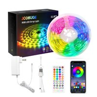 Led Strip Lights, RGB 5050 Color Changing Light Strips Kit with Ir Remote Lights for Bedroom, Kitchen, Home Decoration,UL   ETL certified power supply