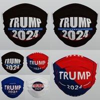 Trump 2024 Mascarilla lavable reutilizable Reutilizable Tela No tejida Haze-Proof Transpirable Unisex Adultos Facemasks 537 V2