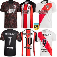 2021 2022 River Plate Soccer Jersey Casa Away 31 21 22 Carrascal Romero Alvarez Ponzio M. Suarez de la Cruz Campeon Libertadores Camicie da calcio