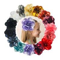 Filles accessoires de cheveux accessoires de cheveux Baby BB Clip Kids Barrettes Clips Barrettes Diy Childrens Flowers Fleur Poitrine à cheveux Accessoire B6836