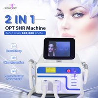 E-Light Shar opt ipl Jambes lisses lisses de la machine d'épilation d'épilateur permanente épilateur sans douleur peau de rajeunissement acné pigment de thérapie vasculaire