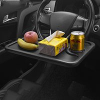 Volkswagen Golf Tesla Car Holder Table Steering Wheel For Eating Working Drinking Coffee Goods Tray Laptop Computer Desk Mount Stand Seat