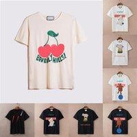 2021 Womens Herren Designer T-shirts T-shirts Mode Brief Druck Kurzarm Dame Tees Luxurys Freizeitkleidung Tops T-shirts Paare Kleidung