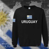 أوروجواي أوروجواي هوديي الرجال البلوز العرق جديد الهيب هوب الشارع الشهير الملابس رياضية الأمة البلد العلم Ury H0913