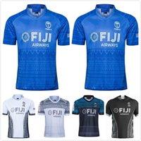 Fiji Airways 2021 Casa per adulti Away Flying Fijians Rugby Jersey Kit Maillot Camiseta Maglia Tops S-5XL