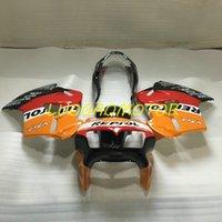 High Quality Compression Fairings kit HONDA VFR800 VFR 800 Fairing kits 2001 2000 1998 1999 motorcycle parts Free Custom Gifts cowling bodywork Orange Red Black
