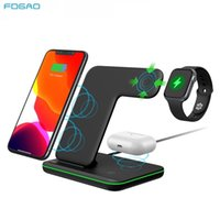 FDGAO 15W 3 in 1 Qi iPhone 13 12 11 Pro XS XS X 8 Apple Watch 6 5 4 3 2 AirPods