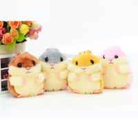 Jahr des Ratten-Pendelle Hamster Super süße Plüschspielzeug Greife Puppe Kinder Geschenk Girl Puppe
