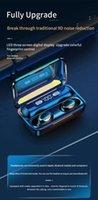 الهاتف الخليوي الهواتف TWS خاص F9-5C سماعة بلوتوث لاسلكية 5.1 لمس الرياضة في الأذن الأذنين