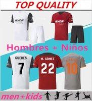 Erkekler + Çocuk Kitleri 2021 2022 Valencia Futbol Formaları Camiseta De Fútbol 21/22 Rodrigo Parejo Kang, Gameiro Gaya Gaedes C.Soler Futbol Gömlek