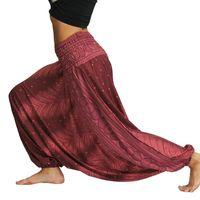 Women's Pants & Capris Loose Waist Bloomers Digital Printing Women Sports Fitness Leisure