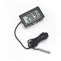 Thermomètre numérique à écran LCD électronique portable professionnel pour réfrigérateur / congélateur / aquarium / de poisson Température