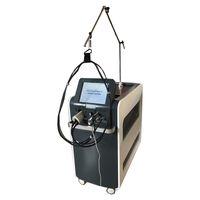 1064NM755NM الألياف آلة إزالة الشعر بالليزر مع حجم بقعة 5 مم -18 مم