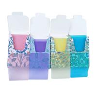 Monouso anti-polvere mini da viaggio sapone per la lavorazione della carta per la lavorazione della mano delle tavole di lavaggio delle tavole di pulizia dei tablet Prodotti di pulizia 4 colori fogli profumati GWF10211