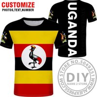 UGANDA T 셔츠 DIY 무료 사용자 정의 만든 이름 번호 UGA 티셔츠 국가 플래그 UG ugandan 국가 대학 사진 인쇄 텍스트 옷 x0602
