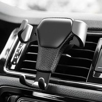 Gravity Car Holder For Phone in Car Air Vent Clip Mount No Magnetic Mobile Phone Holder Cell Stand Support For smartphones