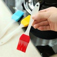 Bake Tool Basting Brush فرشاة سهلة تنظيف عالية درجة الحرارة المقاومة شواء أدوات التوابل فرشاة سيليكون فرشاة النفط EWE6667