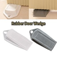 Door Catches & Closers Wedge Shaped Plastic Stops Non-Slip Buffers For Office Home Baby Safe Floor Stopper