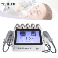 7D HIFU Machine Faceelift Ultrasound Beauty Device Device Body Minceur PROFESSIONNELLE PROFESSIONNELLE DU FACE DE LEVELAGE DE LA ROULEMENT POUR LA PEAU