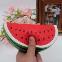 Decompression toy Watermelon Squishy Kawaii 14.5cm Decoration Super Slow Rising bauble Fun Kids Toys Gift