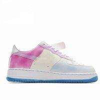 Z pudełkami Kobiety Męskie Jeden Buty do biegania Trenerzy Sneakers Bezpośredni światło Słoneczne UV Sensing Color Buty ShoS rozpocznie zmiany kolorów