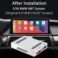 Carplay Android Auto Retrofit Decoder Videoschnittstelle mit RCA USB-Eingang für NBT iDrive W / OEM-Touchscreen 13-16 Auto-DVD-Player