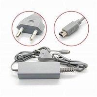Gamepad Ładowarka AC Zasila ścienna Adapter do Nintendo Wii U Joypad Zdalny kontroler US / EU wtyczka 100-240V KDJK2104