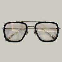 Venta Pequeño verano cuadrado sombras vintage steampunk moda solnglases hierro tony stark gafas de sol para hombres gafas de sol retro masculinas o mujeres 2020