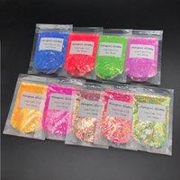 Nail Glitter 50g One Bag Wholesale Bulk Polyester Mix Craft Loose Tumbler Powder Cosmetic Body Art Chunky