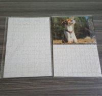 Neue Sublimation Puzzle A4 Größe DIY Sublimation Blanks Puzzles Weiß Puzzle Puzzle 80 stücke Wärmedruck Transfer Handgemachte Geschenk EWF7524