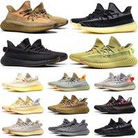 Top Quality Hommes Femmes Chaussures Concentrant Casual Sneakers Casual 3M Bred Ash Craqué Carbon Zebra Israfil Sand Statique Statique Black Yecheil Hommes Baskets avec boîte EUR 36-48
