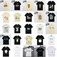 Femme Mens Designers T shirts T-shirts Lettre de mode Impression de chat à manches courtes Lady Tees Casual Vêtements 21SS T-shirts Vêtements 2021 57OQ #