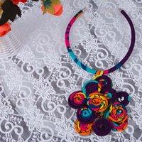 2021AFRICA Kolye partisi rolü rolü tadı tadı Lady'nin dekorasyon manuel Geleneksel WYB594 etnik kıyafetler